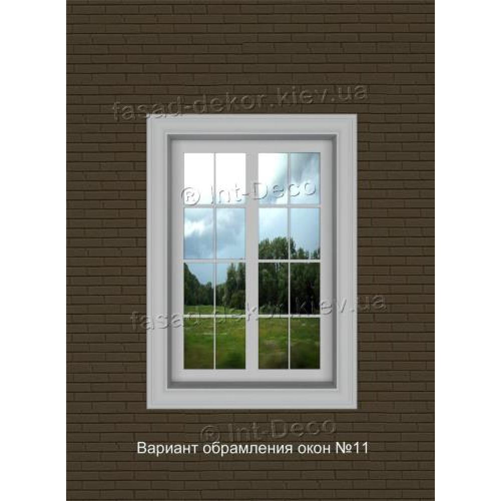 Фасад дома варианты отделки окон на фасаде №11
